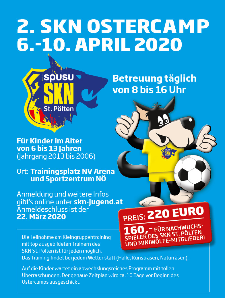 2. SKN Ostercamp 2020